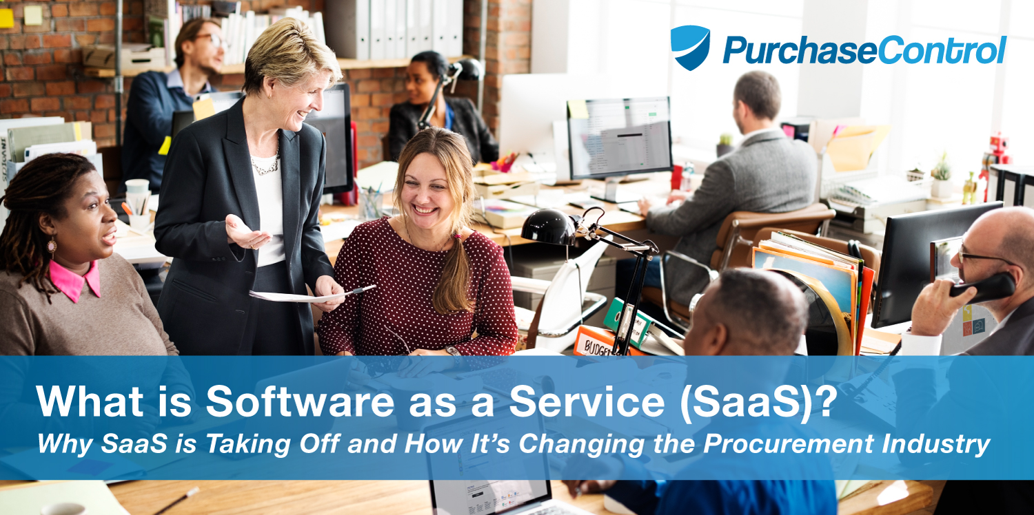 What is Software as a Service (SaaS) Blog Cover Text